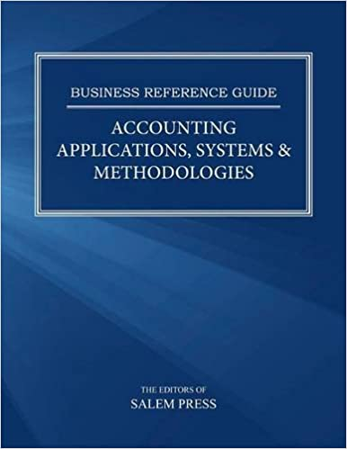 HF5616 Accounting Applications, Systems & Methodologies
