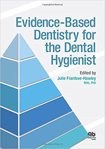 RK60.5 Evidence-Based Dentistry for the Dental Hygienist