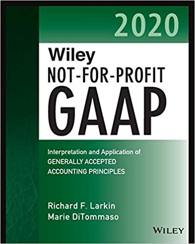HF5686 Wiley Not-for-Profit GAAP 2020