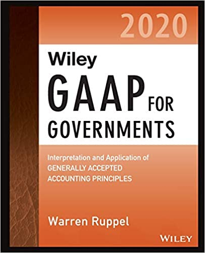 HJ9801 Wiley GAAP for Governments 2020
