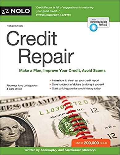 HG3756 Credit Repair