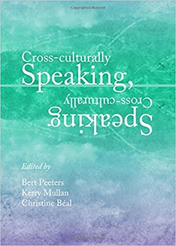 P94.6 Cross-culturally Speaking, Speaking Cross-culturally