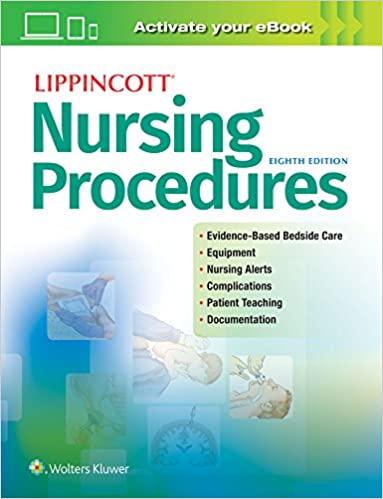 RT41 Lippincott Nursing Procedures