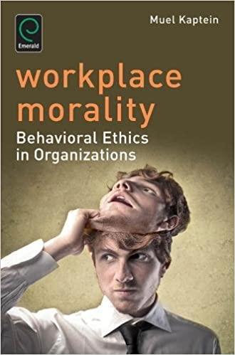 HF5387 Workplace Morality