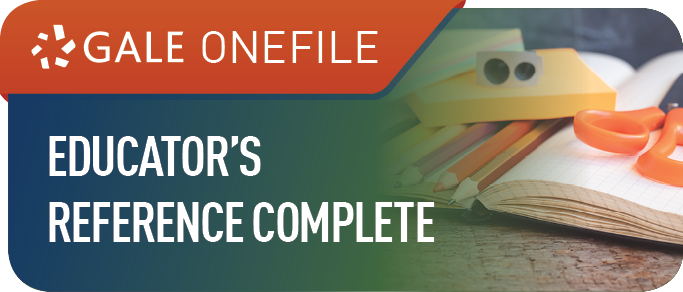 Gale OneFile: Educator's Reference Complete