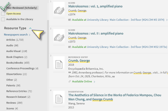 Image of library catalog